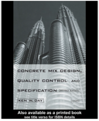 Image of Concrete Mix Design, Quality Control and Specification