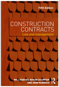 Image of Construction Contracts : Law and Management